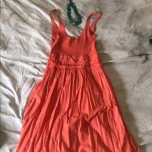 United Colors of Benetton coral colored dress - S